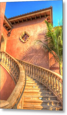 Watch Your Step And Welcome Metal Print by Heidi Smith