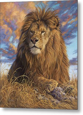 Watchful Eyes Metal Print by Lucie Bilodeau