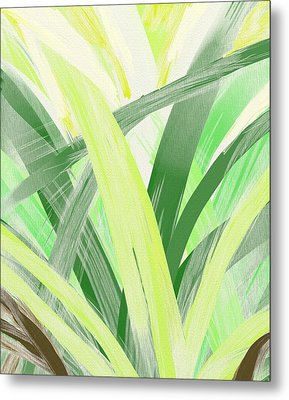 Watching Grass Grow Metal Print