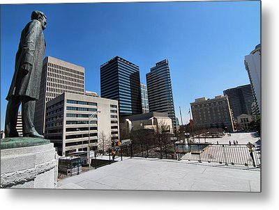 Watching Over Nashville Metal Print by Dan Sproul