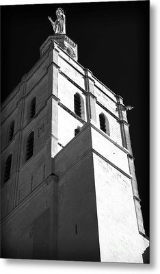 Watching Over The Papal Palace Metal Print