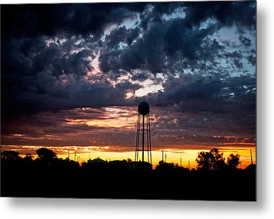 Watchtower Metal Print by Shirley Heier