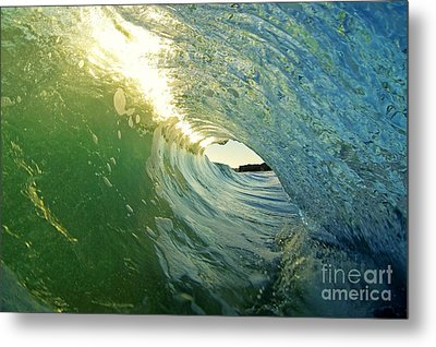 Water And Light Metal Print by Paul Topp