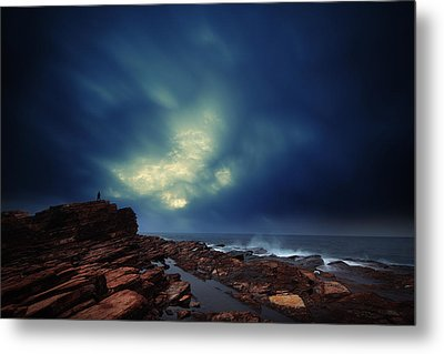 Metal Print featuring the photograph Water Cloud by Afrison Ma