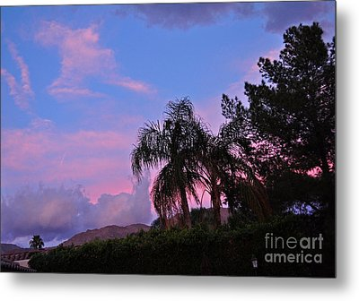 Water Colored Sky Metal Print by Jay Milo