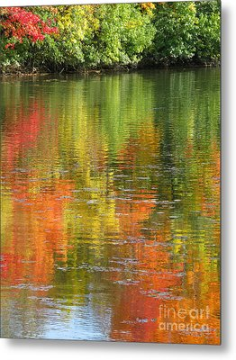 Metal Print featuring the photograph Water Colors by Ann Horn