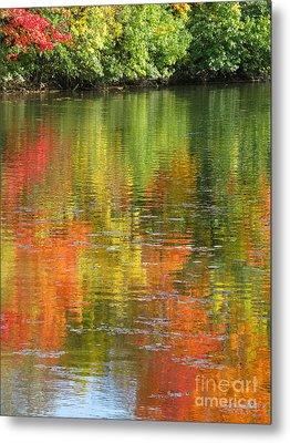 Water Colors Metal Print by Ann Horn