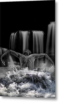 Water Dance Metal Print