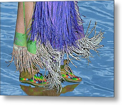 Water Dancing Metal Print by Kae Cheatham