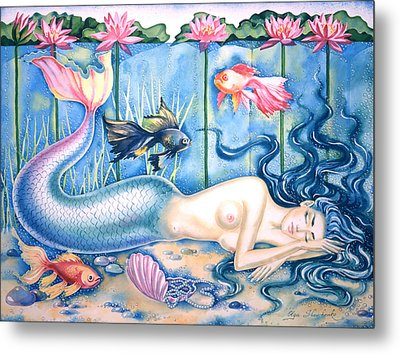 Water Dreams Metal Print by Olga Shevchenko