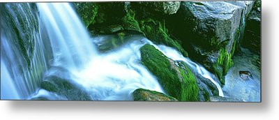 Water Falling From Rocks, South Fork Metal Print