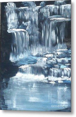Water Falls And Falls And Falls Metal Print