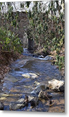 Water Flow To Poinsett Metal Print