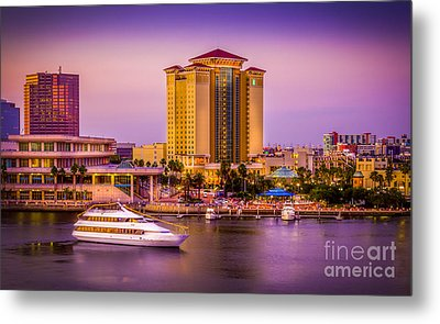 Water Front Tampa Metal Print by Marvin Spates