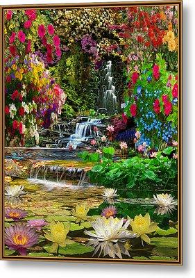 Water Gardens Metal Print