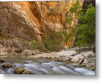 Metal Print featuring the photograph Water In The Narrows by Bryan Keil