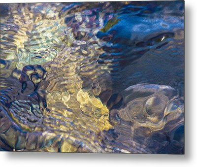Water Monster Metal Print by Omaste Witkowski