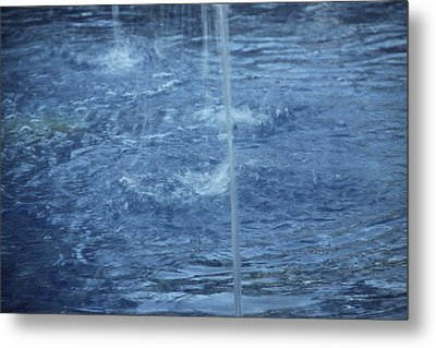 Water Metal Print by Mustafa Abdullah