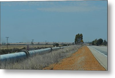 Water Pipeline Metal Print
