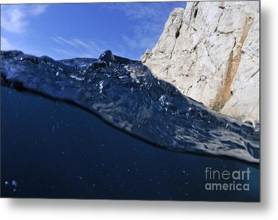 Water Surface Metal Print