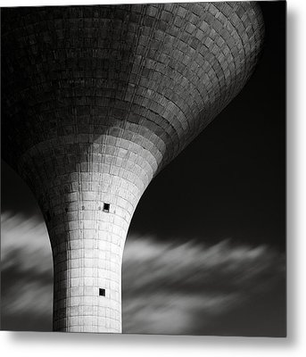 Water Tower Metal Print by Dave Bowman