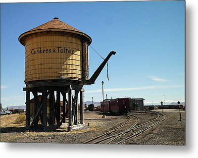 Water Tower Metal Print by Jeff Swan