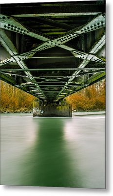 Water Under The Bridge 2 Metal Print