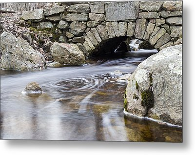 Water Under The Bridge Metal Print by Andrew Pacheco