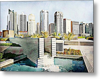 Water World Metal Print by Peter Waters