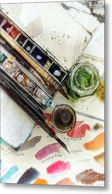 Watercolors Metal Print by Jill Battaglia