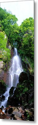 Waterfall Alsace France Metal Print by Panoramic Images