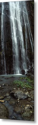 Waterfall, Barranco Del Infierno Metal Print by Panoramic Images