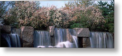Waterfall, Franklin Delano Roosevelt Metal Print by Panoramic Images