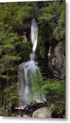 Metal Print featuring the photograph Waterfall by Gary Rose