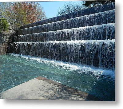 Metal Print featuring the photograph Waterfall Heaven by Emmy Marie Vickers