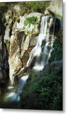 Waterfall I Metal Print by Marco Oliveira
