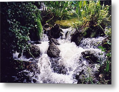 Waterfall Metal Print by Michele Kaiser