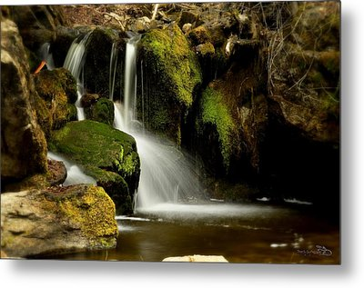 Waterfall - Naramata Dsc0043 Metal Print
