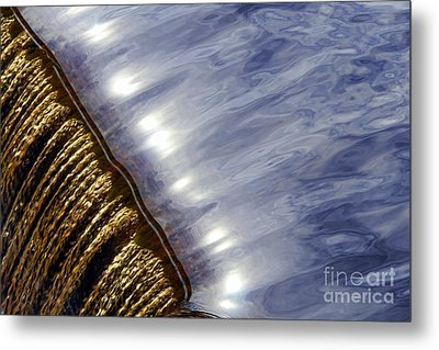 Waterfall Metal Print by Olivier Le Queinec