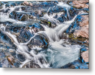 Metal Print featuring the photograph Waterfall On Mt. Rainier by Chris McKenna