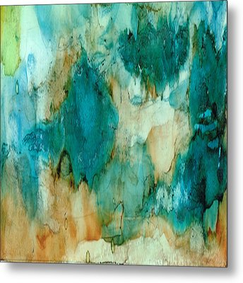 Waterfall Metal Print by Rosie Brown
