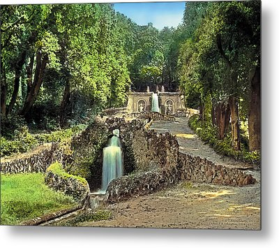 Waterfalls Metal Print by Terry Reynoldson