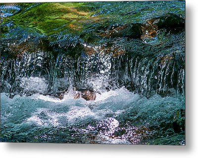 Metal Print featuring the photograph Waterflow by Dennis Bucklin