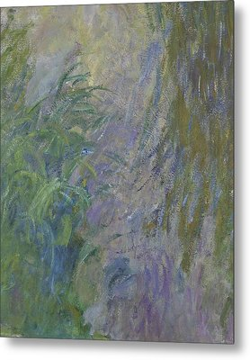 Waterlilies  Metal Print by Claude Monet