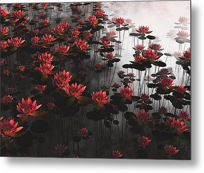 Waterlillies Metal Print