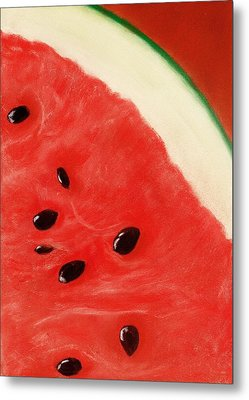 Watermelon Metal Print by Anastasiya Malakhova