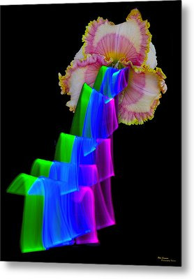 Watermelon Taffy Metal Print