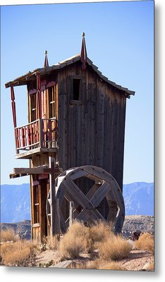 Watermill House Metal Print