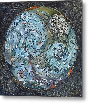 Waterworld Metal Print by Linda Carmel