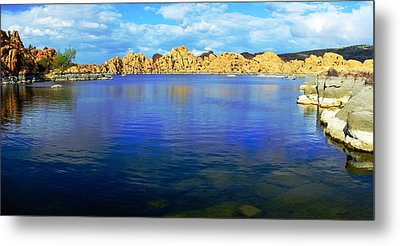 Watson Lake #2 Metal Print by Richard Henne